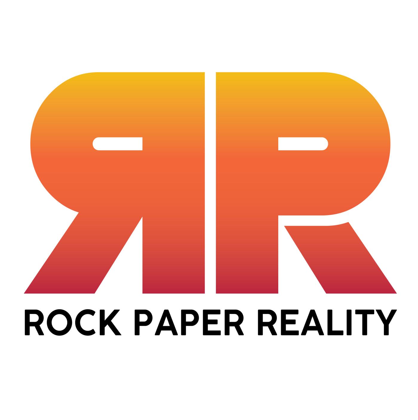 Stabilized AR experiences Production Studio Rock Paper Reality Logo