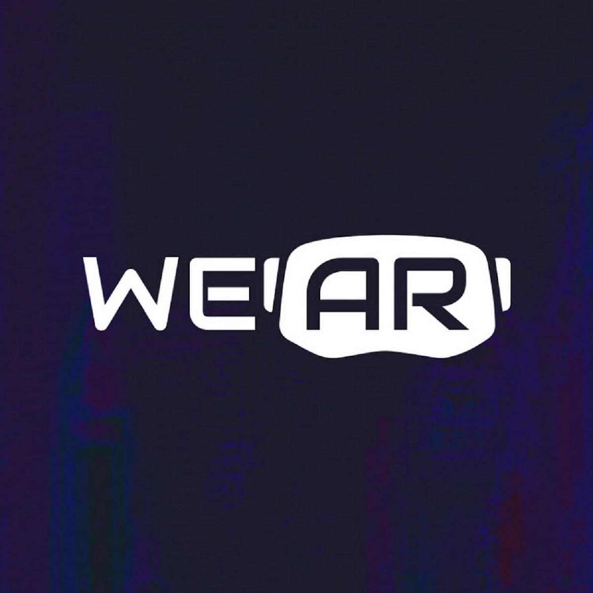 Streamlined XR creations WeAR Studio Logo